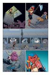 Spacepig Hamadeus and the Geysers of Doom page 23 by DonovanYaciuk