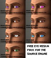 Eye Reskin pack - Demon edition [SFM DL] by Nikolad92