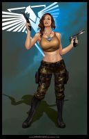 TANYA from RED ALERT 3 by johnbecaro