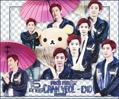 [PACK RENDER #67] 15 PNG CHANYEOL - EXO by RinYHEnt
