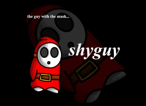 tribute to shyguy by JonoLucerne