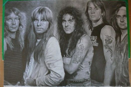 Iron Maiden by Joan95