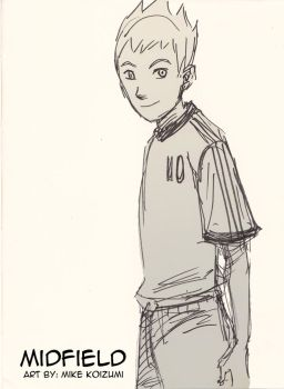 Midfield Manga: Aiden Sketch by MikeKoizumi