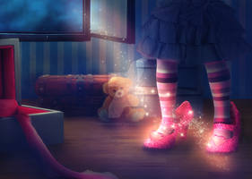 Magic shoes by AdriaticaCreation