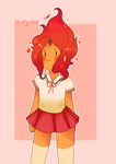Flame princess by huffyisdead
