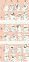 expression meme by crystalpink1616