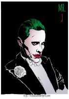 Suicide Squad - Joker (Jared Leto) by EttoBascianoWorks