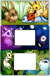 Eevee Evolution DS Skin by sambees