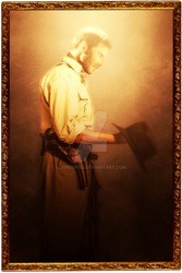 Indiana Jones In Contemplation - Fan Art by Jones6192
