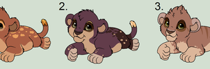 x Zola Cubs [Closed] by Sukida-Adopts