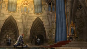 The King and Lordaeron by hipnosworld
