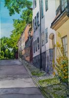 Sodermalm street by cristineny