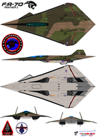 Lockheed  fa-70  Panther 2  robin olds by bagera3005