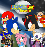 Sonic Adventure 2 Remix - Official Poster by UrsineTimes