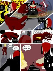 Grita the Reaper Versus Quint Page 4 by Symon-Says