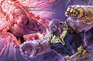 JIREN vs THANOS Collab by marvelmania