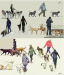 dog lovers.. by agevla77
