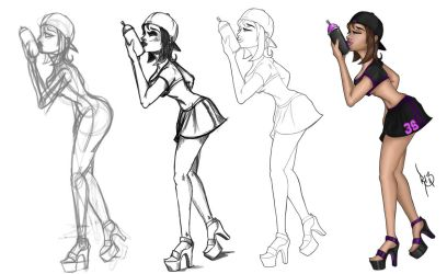 from insanity to style ^^ by DirtySix