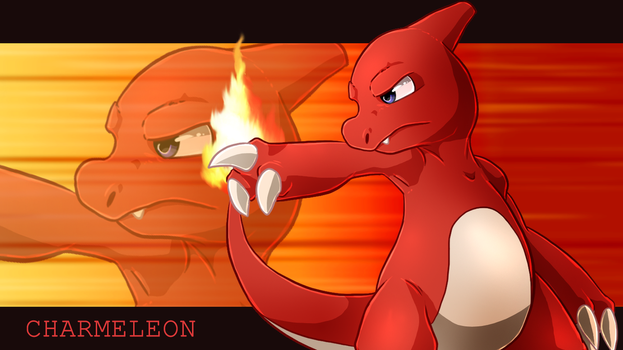 Charmeleon wallpaper by Natsuakai