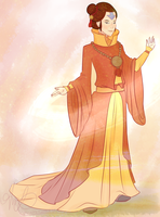 Adult Jinora by mslvt