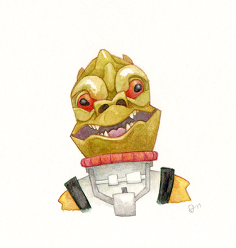Bossk by WonderDookie