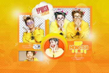 RAP MONSTER PNG PACK #3/BTS by Upwishcolorssx