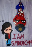 I Am Spider-Cop by InkArtWriter