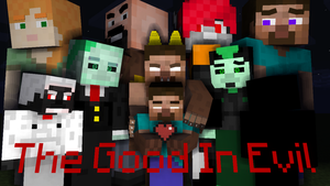 The Good In Evil - Comic Cover by HerobrineSings