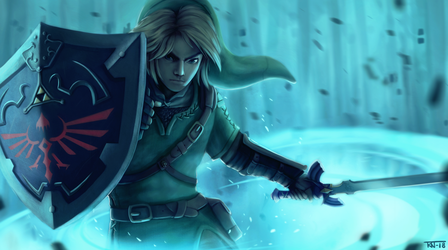 Link - Twilight Princess fan art by trinemusen1