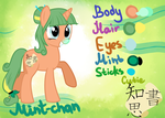 Mint-chan referens by LukeAndLucky