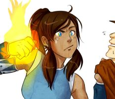 Korra will own you by MechaBerry