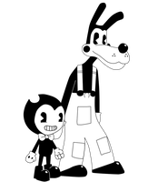 Bendy and Boris by Gamerboy123456