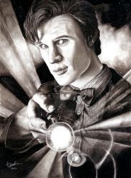 Doctor Who - Matt Smith by Anthony-Woods