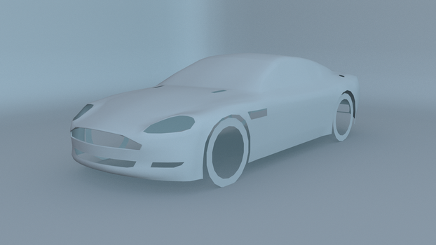 Aston Martin DB9 WIP by blenderednelb