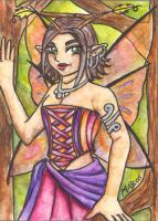 ACEO: Gypsy Faery by Wulfemoon