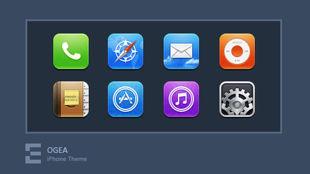 iPhone Theme - Ogea by kawsone