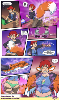 Kyla TF Comic by Toonexterminator (2/3) by Avulpanther