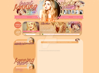 Elle Fanning Layout by Lexigraphic