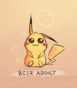 beer addict by Apofiss