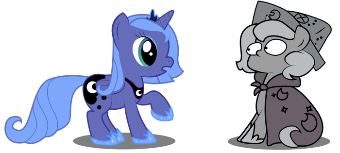 Luna Meets Woona by REPLAYMASTEROFTIME
