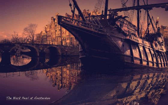 The black pearl at Amsterdam 3.0 by joeyvandewouw