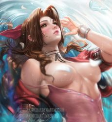 Aerith .nude tag. by sakimichan