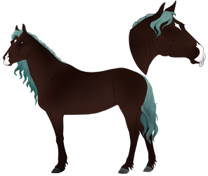 SA | Alvane's Old Ref Art by NorthernMyth