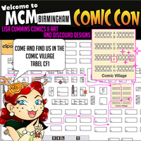 MCM Birmingham Table location 2016 by BaGgY666
