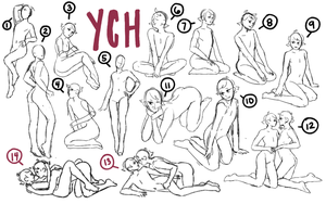 YCH | OPEN (DISCOUNTED!) by Chaunter