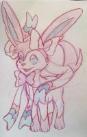 Sylveon by faeore
