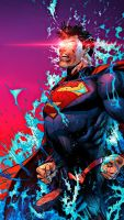 New 52 superman by MayanTimeGod