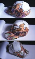 customized flexfit cap 3 by graynd
