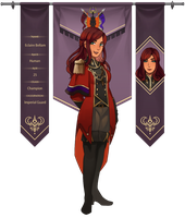 AA: Eclaire Bellam by tryphenas