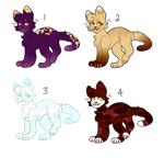 Halloween Kittens || OPEN || by XechiiAdopts